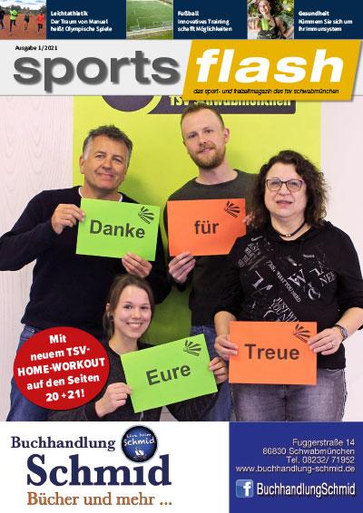 Sportsflash Ausgabe 1 / 2021